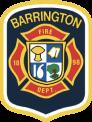 Barrington fire fighter badge