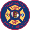 Channohon fire fighter badge